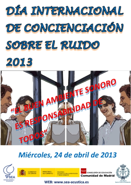 Cartel Dia sin Ruido 2013